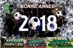 Meilleurs voeux pour 2018 !! - Football Club de SAINT-REMY