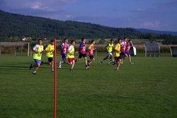 Le 25 juillet , les joueurs seniors d'ambert fcus ont repris avec motivation le chemin du stade pour preparer la saison à venir, tous cela bien concocté par leurs coatchs. - FCUS
