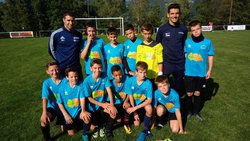 Coupe de France U 13 qualification - Football Club Villargondran