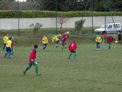 1/4 de finales de coupe Favre contre Arzens - FC Villedubert