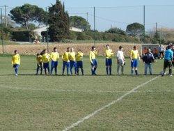 L'équipe 1 contre Cuxac d'aude le 19 fevrier 2017 - FC Villedubert