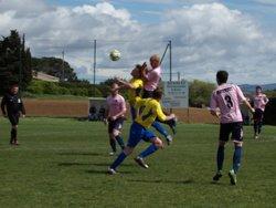 Match de l'équipe 1 contre St Nazaires - FC Villedubert