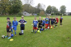 nos petits U7 à l'entrainement - FOOTBALL CLUB VAL DE RISLE