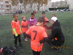 Photos du 18-11-2017 plateau U9 -U13 contre O.L et seniors 2 contre GRIGNY - FEYZIN CLUB BELLE ETOILE