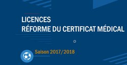 ATTENTION IMPORTANT LICENCE 2017.2018