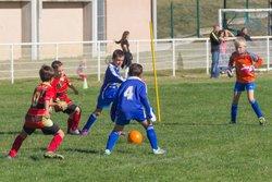 Plateau U8/9 le 15-10-2016  à domicile  - Félicitations aux petits champions !!! - Football Club Montastruc