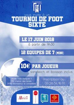Tournoi Sixte le 18.06.2018 - Football Club Montastruc