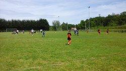 Quelques photos des U11 à Chalais - Ecole de foot FOOTHISLECOLE