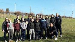 Les U15 pour leur premier déplacement en INTERDISTRICT à MONFLANQUIN - Ecole de foot FOOTHISLECOLE