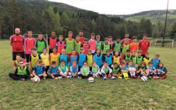 Le stage Gard O Foot a débuté ! - FOOTBALL SUD LOZERE