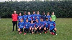 U18 - 2eme Division. Vertaison 10-09-2017 - Groupement Formateur Limagne