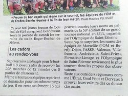 U10 -U11 Tournoi à l'Olympique de St Etienne