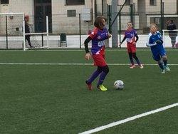 1er match de la 2ème phase pour les U14F, match nul 4 à 4 à Fontenay - GJ OLONNE-CHATEAU