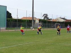 GJ U18 Féminine contre TVEC Défaite 4 à 2 ⚽ - GJ OLONNE-CHATEAU