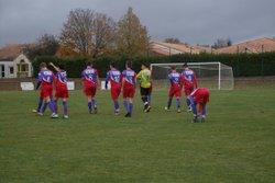 GJ U18 contre Oulmes , Victoire 5 à 4 - GJ OLONNE-CHATEAU