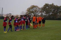 GJ U14 Féminine contre St George de Montaigu , Victoire 3 à 0 - GJ OLONNE-CHATEAU