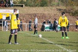 U17 : G.J - B.O QUESTEMBERT 2ème Mi-Temps Lot 1_ - GROUPEMENT JEUNES PAYS DE SULNIAC