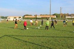 Match U10/U11 Equipe 1 et 2 18-11-2017 - C.J.F. EN COEUR DE SAINTONGE