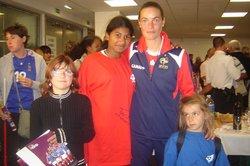 27 Septembre 2008: Match de qualification France féminine pour l'Euro 2009 - FC GOELANDS SANMARITAINS