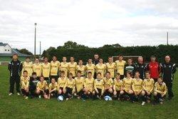 l'ensemble des U15 saison 2009/2010 - Groupement des Jeunes de l'Aulne