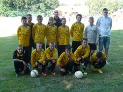 La saison u13 à débutée par des tournois , matchs amicaux et  surtout les entrainements... - Groupement des Jeunes de l'Aulne