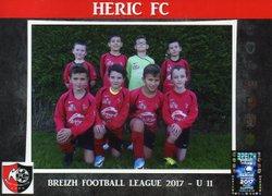 U11 en tournoi 2017-2018 - HERIC FOOTBALL CLUB