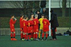U12 Abder : défaite 1-0 contre Croix (08/12/2017) - Iris Club Lambersart