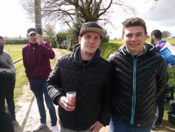 Les deux buteurs de la B David et Pierre-Alexandre - JEANNE D'ARC ARZANO