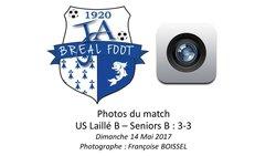 Laillé B - Seniors B : 3-3 / Dimanche 14.05.2017 / Merci Capitaine Adam ! - JA Breal Foot