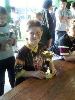 Remise des coupes aux poussins - Jeunesse Sportive de Cambron