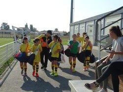 U11F - 23/09/17 - J. rentrée à Auterive - Jeunesse Sportive Cintegabelloise