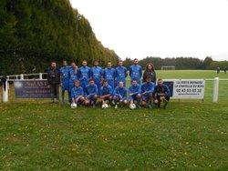 le club de la chapelle du bois avec les sponsors - Sport et Loisirs La Chapelle Du Bois