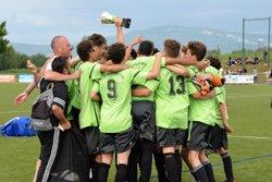 Victoire des U17 en finale !! - Union sportive La Murette