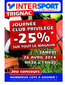 Journée PROMO Intersport