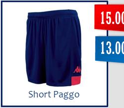 Short PAGGO Adulte