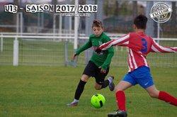 U13(A): LEMPDES 3 - 3 CEBAZAT 11 Novembre 2017 - Lempdes Sport Football