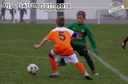 U13(A): GERZAT 2 - 2 LEMPDES 18 Novembre 2017 - Lempdes Sport Football