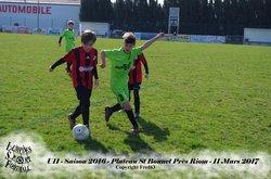 U11 - Plateau St Bonnet près Riom - 11 mars 2017 - Lempdes Sport Football