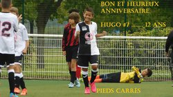 Bon et Heureux Anniversaire HUGO #7 ...... 12 ANS. ( Pieds Carrés ) - Les P'tits Gars de SARRY - C.O.S