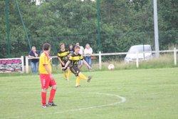 Qualification du THEUX FC B 3-1 contre ASFELD.... Dugauguez en jaune et noir - LE THEUX FOOTBALL CLUB