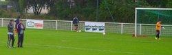 29 AOUT 2015 1ere sortie en match amical à PLOUGUERNEAU et 1ere victoire (1-6)  pour les U15 - Légion Saint Pierre