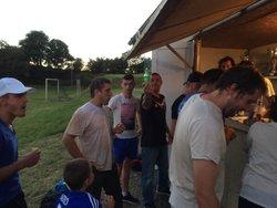casse croute après l' entrainement du 28/07/2017 - AS LUGARDAISE