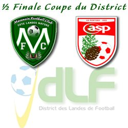 Demi-finale de la coupe du District