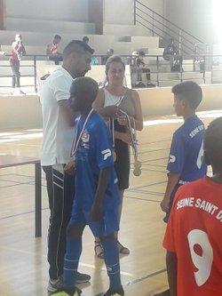 Finale coupe futsal 93 u10 et 12 victoire de ES Solitaires et Esperance Paris 19 bravo !!! 27 06 2018 - Associazione Club Montreuil Futsal         ACM MONTREUIL FUTSAL