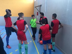 Rencontre ACM-Nogent Futsal 8-14 belle rencontre fair-play et belles combinaisons ! U14/U15 - Associazione Club Montreuil Futsal         ACM MONTREUIL FUTSAL
