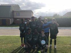 Équipe U15 au tournoi de bourg Achard le 16/06/18 - Mont Saint Aignan Football Club