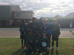 Équipe U15 ont fini 4 du tournoi très bon moment avec les joueurs Alain - Mont Saint Aignan Football Club