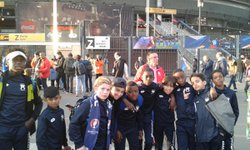 MATCH FRANCE - ESPAGNE AU STADE DE FRANCE - Neuilly Plaisance Sports section football