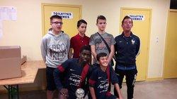 Les U15 vainqueur du challenge NINO