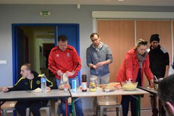 Repas avant match 14/05/2017 - OCTEVILLE HAGUE SPORTS
